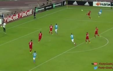 Europa League: José Callejón anotó este golazo con el Napoli