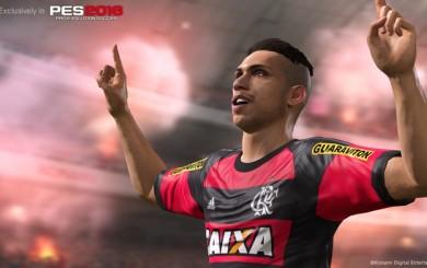 Paolo Guerrero no será la portada del PES 2016 edición Flamengo
