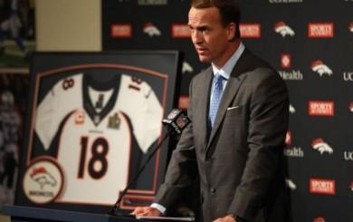 NFL: Peyton Manning dijo adiós a brillante carrera en medio de lágrimas