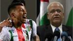 Erekat felicitó al Palestino por eliminar al Flamengo de Sudamericana - Noticias de alf inge hland