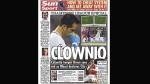 Claudio Bravo fue portada en el diario 'The Sun' y lo llamaron 'payaso' - Noticias de claudio bravo