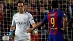 Claudio Bravo afirmó que su error metió al Barcelona en el partido - Noticias de claudio bravo