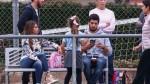 Lionel Messi: así alentó a Thiago en su primer entrenamiento en Barcelona - Noticias de esposa de messi