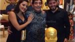 Diego Maradona 'explotó' contra sus hijas Dalma y Giannina en Facebook - Noticias de jana maradona