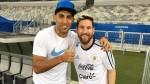 Lionel Messi le cumplió sueño al delantero argentino 'Wanchope' Ábila - Noticias de wanchope ábila