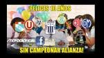 Alianza Lima quedó lejos de las semifinales y estos son los memes - Noticias de carlos lanfranco