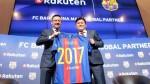 Barcelona: grupo japonés Rakuten es el nuevo patrocinador hasta 2021 - Noticias de manel arroyo