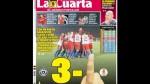 Chile: La Cuarta y una polémica portada tras triunfo sobre Uruguay - Noticias de santiago rojas