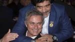 Mourinho recibió la llamada de Maradona tras el empate del United - Noticias de olivier giroud