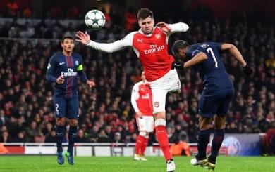 PSG sacó un importante empate 2-2 en casa del Arsenal por la Champions