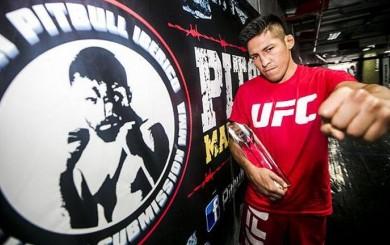 Enrique Barzola y sus reflexiones sobre lo que vivió este 2016 en la UFC