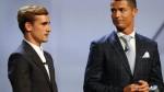 """Griezmann detalló cuándo y por qué le dijo """"te odio"""" a Cristiano Ronaldo - Noticias de antoine griezmann"""
