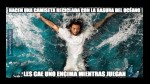 Real Madrid ganó con susto al Sporting de Gijón y dejó estos memes - Noticias de lluvias intensas