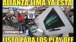 Alianza Lima es víctima de memes tras la última fecha de las Liguillas - Noticias de jerson blas