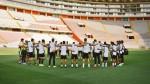 Universitario entrenó en el estadio Nacional y recordó a Chapecoense - Noticias de paolo guerrero