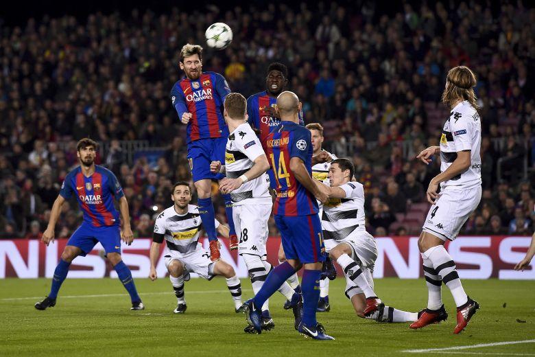 Barcelona se impone 4-0 al Borussia Mönchengladbach en Champions