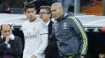 Zidane insiste en que no quiere que James Rodríguez salga del Real Madrid - Noticias de santiago bernab