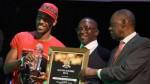 Aubameyang se presentó con polo y gorro a gala del Balón de Oro africano - Noticias de pierre emerick aubameyang