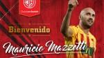Juan Aurich ficha al defensa argentino Mauricio Mazzetti - Noticias de emmen