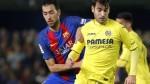 Busquets criticó el arbitraje tras empate del Barcelona con Villarreal - Noticias de di leo