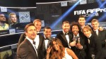 The Best FIFA: Cristiano Ronaldo y Messi lideran el once ideal del 2016 - Noticias de barcelona dani alves