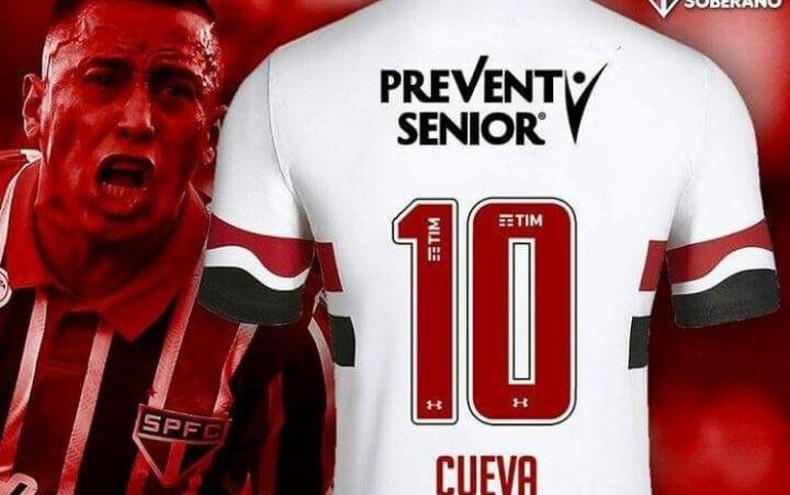 Christian Cueva deja la '13': será el nuevo '10' del Sao Paulo de Brasil
