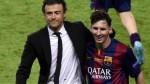 """Luis Enrique: """"Para renovar a Messi hay que tener mucha tranquilidad"""" - Noticias de leo messi"""