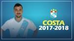 Sporting Cristal renovó dos temporadas con el uruguayo Gabriel Costa - Noticias de sporting cristal alianza lima