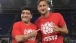 Maradona y el gran detalle que tuvo con Francesco Totti - Noticias de francesco totti