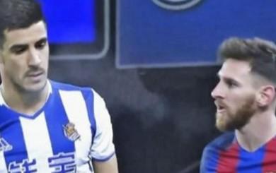 Barcelona: Messi explotó por pelotazo de Yuri que el árbitro no vio