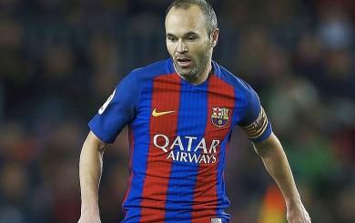 Barcelona pierde a Andrés Iniesta para el partido contra el Eibar
