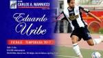 Eduardo Uribe, ex Alianza Lima, jugará por Carlos A. Mannucci - Noticias de eduardo uribe
