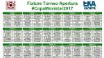Fixture del Apertura y Clausura del Torneo Descentralizado 2017 - Noticias de alberto gallardo