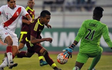 Selección peruana: fatal error del arquero Gómez provocó el 1-1 de Venezuela