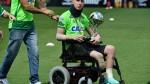Jackson Follmann y la imagen más emotiva que dejó el amistoso del Chapecoense - Noticias de accidente