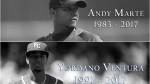 MLB: fallecieron los beisbolistas Yordano Ventura y Andy Marte - Noticias de accidente
