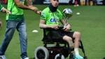 Follmann recibió alta médica y asistirá al amistoso entre Brasil y Colombia - Noticias de personas amputadas