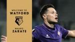 Mauro Zárate dejó la Fiorentina y fichó por el Watford hasta 2019 - Noticias de walter mazzarri