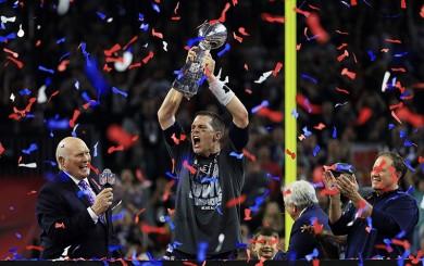 Patriots campeones del Super Bowl LI al superar 34-28 a Falcons