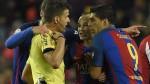 Barcelona: árbitros denunciarán a Luis Suárez tras expulsión ante Atlético - Noticias de sergio busquets
