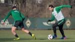 Claudio Pizarro trabaja fuerte para el partido ante el Mainz 05 - Noticias de nueva esperanza