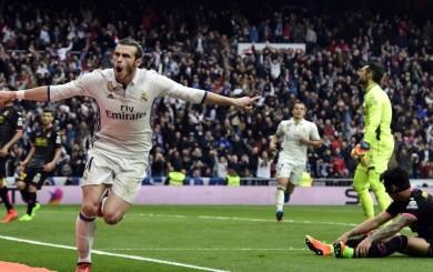 Real Madrid ganó 2-0 al Espanyol con ayuda del recuperado Gareth Bale