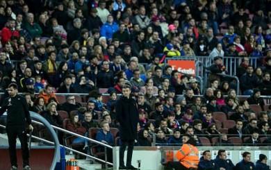 Barcelona: el DT Luis Enrique respondió a los silbidos de los hinchas
