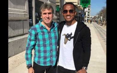 Selección peruana: Néstor Bonillo se reunió con André Carrillo en Lisboa
