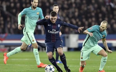 Iniesta ve a Marco Verratti como su sucesor en el Barcelona
