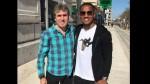 Selección peruana: Néstor Bonillo se reunió con André Carrillo en Lisboa - Noticias de fpf