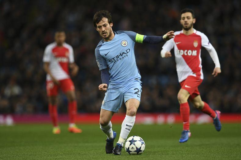 Mónaco se lo dio vuelta al City y gana 2 a 1