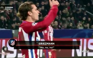 Atlético: Griezmann se enojó con Simeone por el cambio de Gameiro