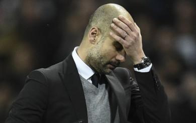 Pep Guardiola no podía creerlo: así reaccionó tras golazo de Falcao