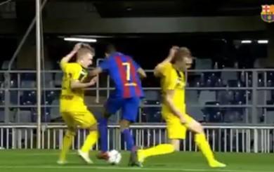 Barcelona: mira el golazo de Jordi Mboula en la Youth Champions League